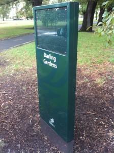 Public Noticeboard sign